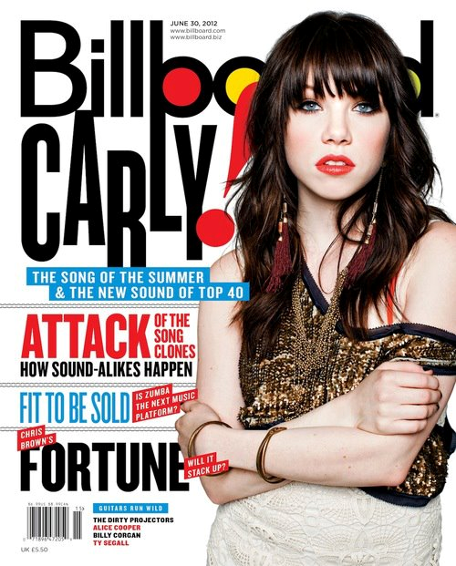 Carly on Billboard Magazine