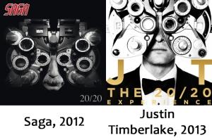 Saga  and Justin Timberlake