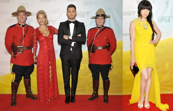 2013 JUNOs Red Carpet