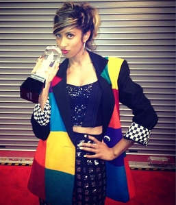Anjulie Wins Her First JUNO Award