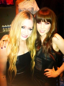 Avril and Carly
