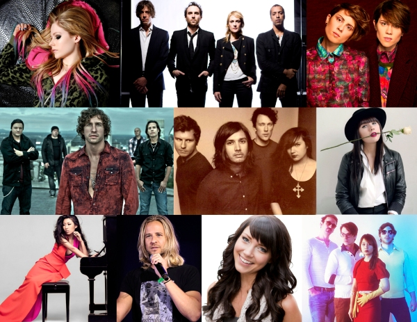 Canadian Recording Artists