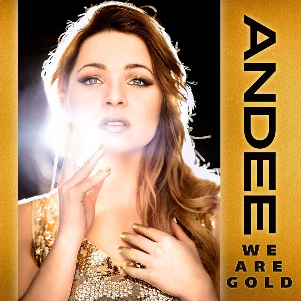 """Canadian Olympic Champions Given Luck By Andee's """"We Are Gold"""": https://musiccanada.wordpress.com/tag/andee"""