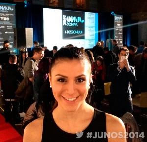 Kristina Maria at the JUNO Nominations Event