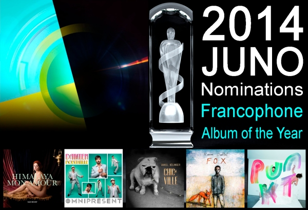 Francophone Album of the Year Nominations copy