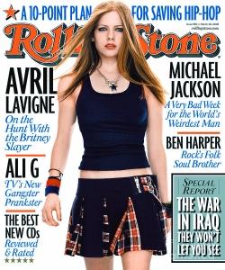 4 - 2003 - Rolling Stone Magazine - Avril Lavigne