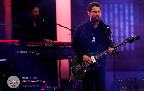 Sam Roberts Band MMVAs 2014