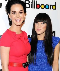 Katy Perry Carly Rae Jepsen