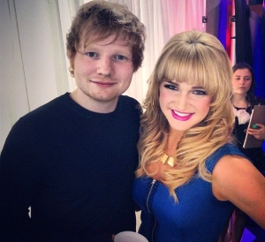 Victoria Duffield Ed Sheeran