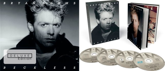 Reckless Bryan Adams 30th Anniversary Deluxe Edition