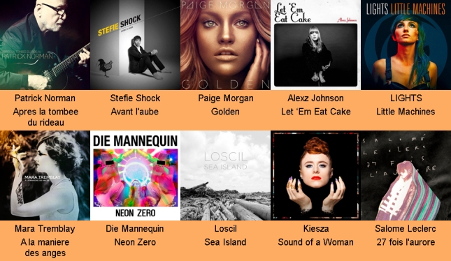 Autumn 2014 Canadian Albums copy