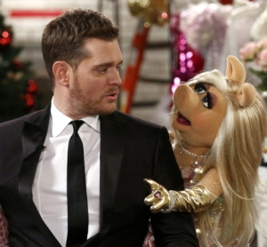 Michael Buble Miss Piggy 1