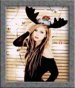 Avril Lavigne reindeer copy