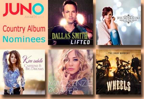 Country Album Nominees copy