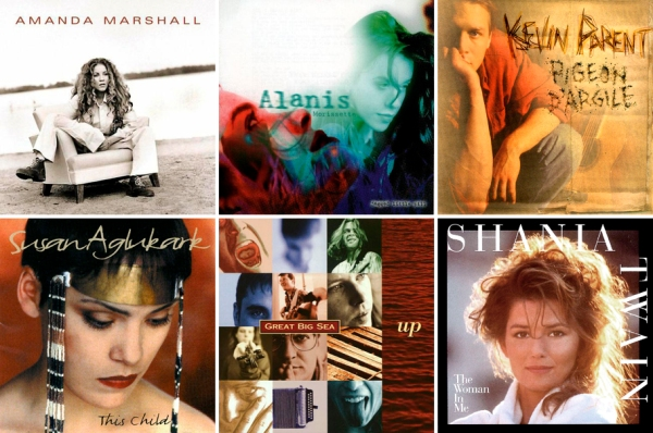 Selected 1995 Canadian Albums copy