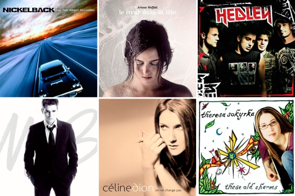 Selected 2005 Canadian Albums copy