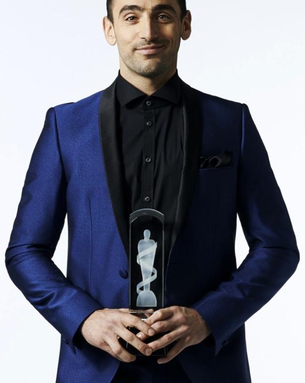 2015 JUNO Host Jacob Hoggard