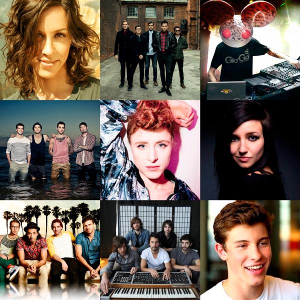 JUNOs 2015 Performers1