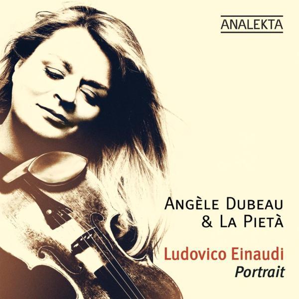 Angele Dubeau and La Pieta ludovico einaudi portrait