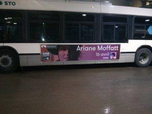 Ariane Moffatt billboard