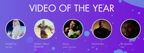 2015 mmva nominations