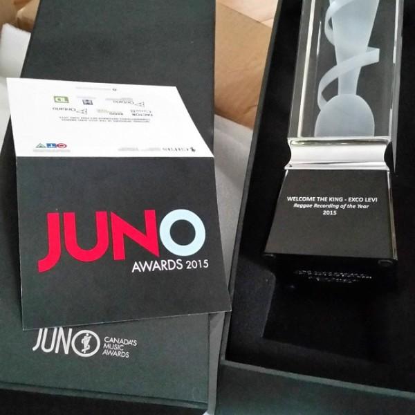 Exco Levi juno award