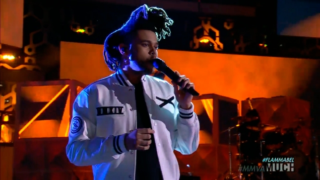 the weeknd mmvas 2015