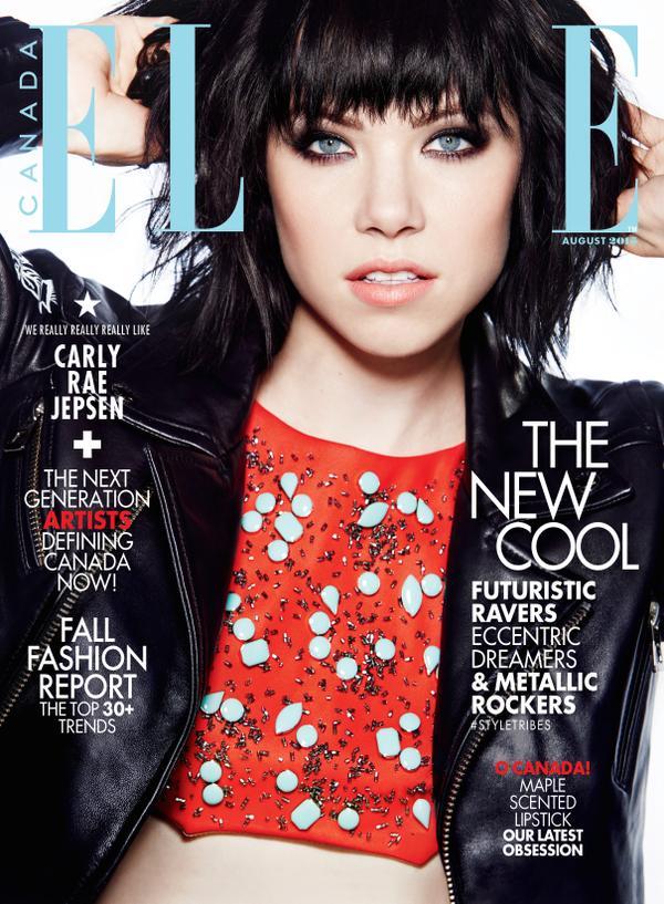 Carly Rae Jepsen Elle Magazine