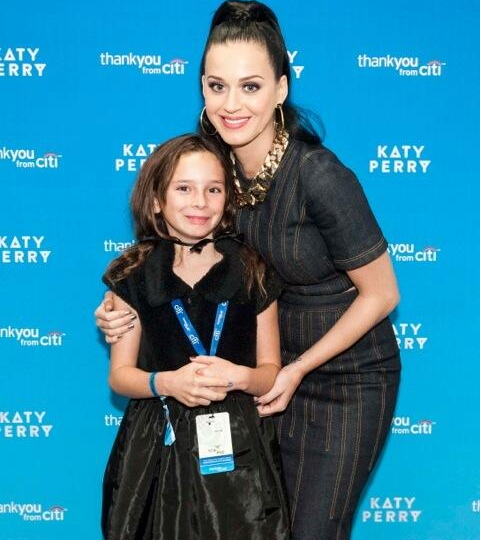 Gary Numan's daughter Raven Meets Katy Perry
