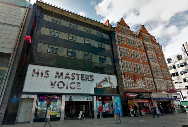 hmv oxford street london