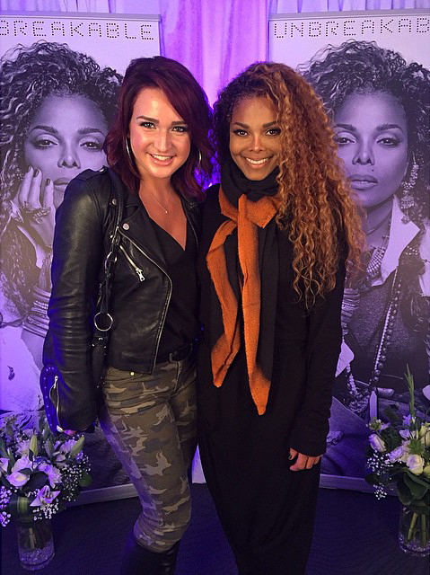 Victoria Duffield Janet Jackson