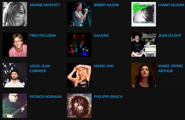 ADISQ 2015 Performers copy