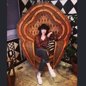 Carly Rae Jepsen chair