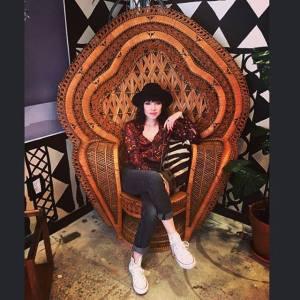 Carly Rae Jepsen chair
