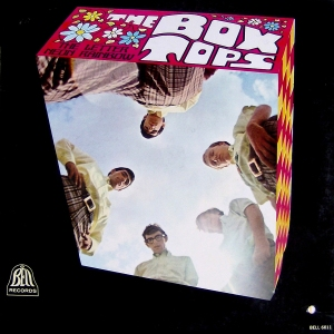 the box tops the letter neon rainbow