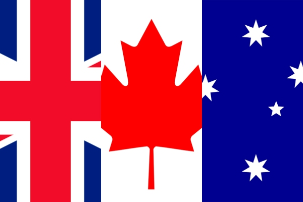 how to call from australia to canada