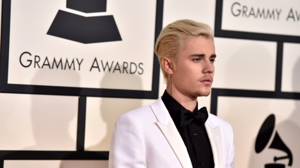 justin bieber grammy awards