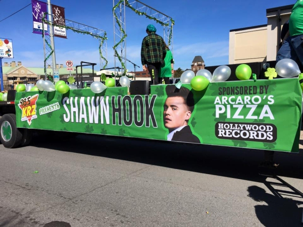 Shawn Hook float