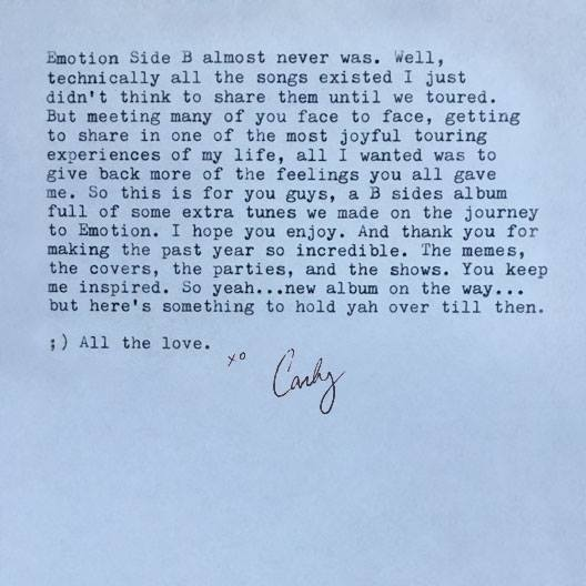 carly note