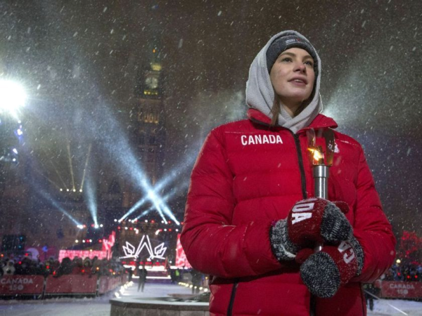 Canadian Olympic hero, Penny Oleksiak. In 2016 at the Rio Games, she became the first Canadian to win four medals in the same Summer Games and the country's youngest Olympic champion.