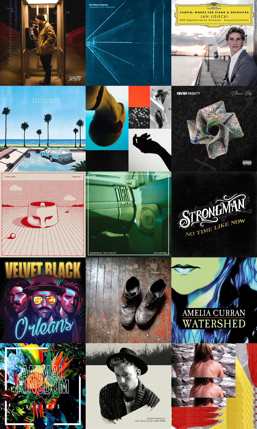 Selected New Releases: March 10, 2017 | Canadian Music Blog